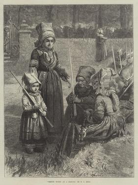 Breton Women at a Pardon by Frederick John Skill