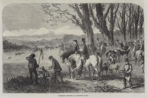 Coursing Meeting at Hampton Park by Frederick John Skill