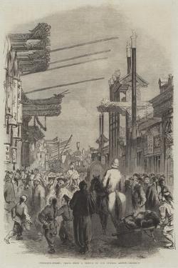 Curiosity-Street, Pekin by Frederick John Skill