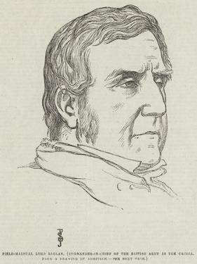 Field-Marshal Lord Raglan, Commander-In-Chief of the British Army in the Crimea by Frederick John Skill