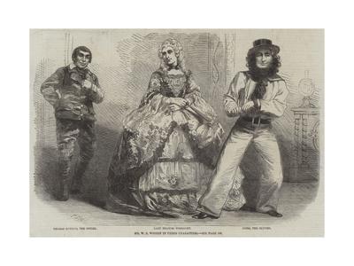 Mr W S Woodin in Three Characters