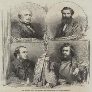 New Associates of the Royal Academy by Frederick John Skill
