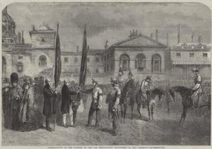 Presentation of the Colours of the Old Westminster Volunteers to the Queen'S by Frederick John Skill