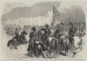 Review of Royal Horse Artillery and Field Batteries at Woolwich by Frederick John Skill