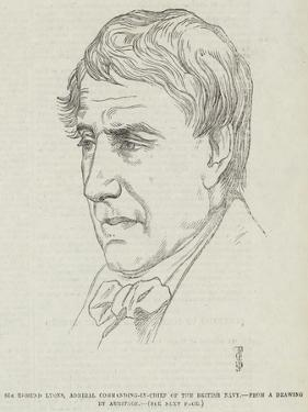 Sir Edmund Lyons, Admiral Commanding-In-Chief of the British Navy by Frederick John Skill