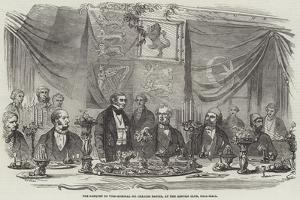 The Banquet to Vice-Admiral Sir Charles Napier, at the Reform Club, Pall-Mall by Frederick John Skill