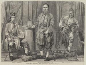 The Siamese Ambassadors by Frederick John Skill