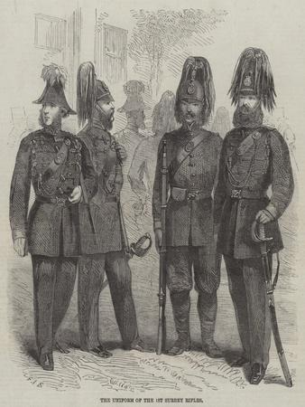 The Uniform of the 1st Surrey Rifles