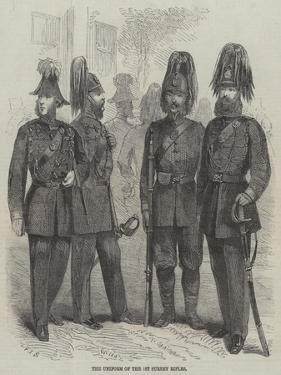 The Uniform of the 1st Surrey Rifles by Frederick John Skill