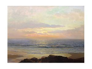 Placid Sunset by Frederick Judd Waugh