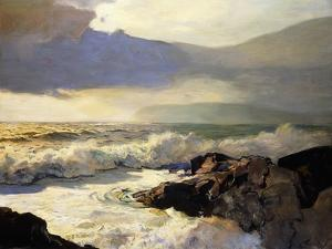 Rain Clouds and Sea by Frederick Judd Waugh