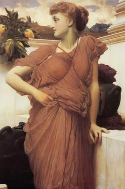 At the Fountain by Frederick Leighton
