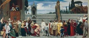 Celebrated Madonna by Cimabue by Frederick Leighton
