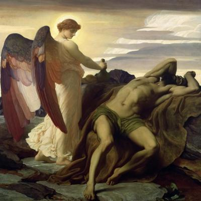 Elijah in the Wilderness, 1877-8 by Frederick Leighton