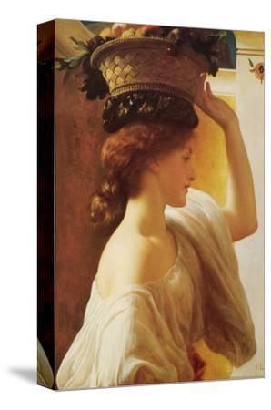 Eucharis - Girl with a Basket of Fruit