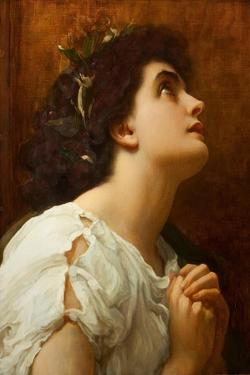 Faith by Frederick Leighton