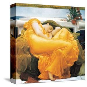 Flaming June by Frederick Leighton