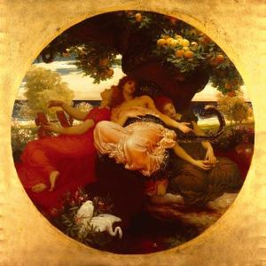 Garden Of The Hesperides by Frederick Leighton