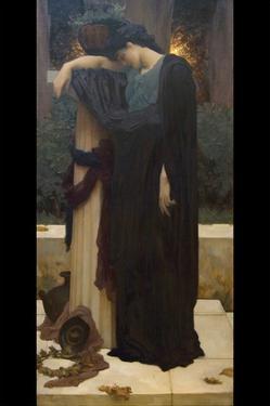 Lachrymae (Mary Lloyd) by Frederick Leighton