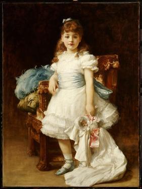 Lady Sybil Primrose by Frederick Leighton
