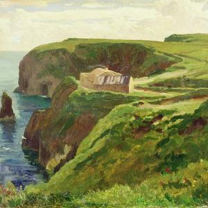 Malin Head, Donegal, 1874 by Frederick Leighton
