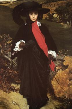 May Sartoris by Frederick Leighton