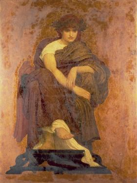 Mnemosyne, the Mother of the Muses by Frederick Leighton