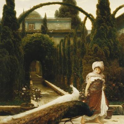 Moorish Garden; a Dream of Granada