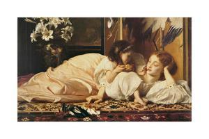 Mother and Child by Frederick Leighton