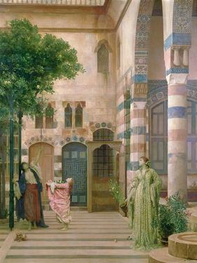 Old Damascus, Jewish Quarter or Gathering Lemons, C.1873-74 by Frederick Leighton