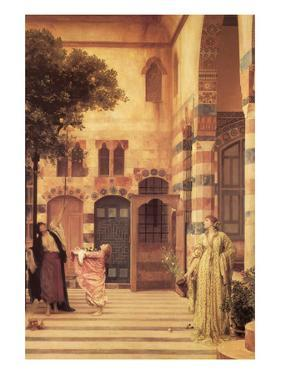 Old Damascus; the Jew's Quarter by Frederick Leighton