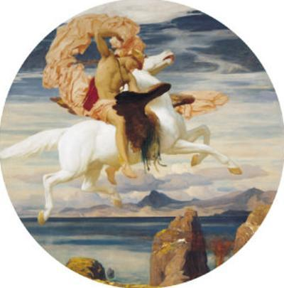 Perseus On Pegasus With the Head of Medusa