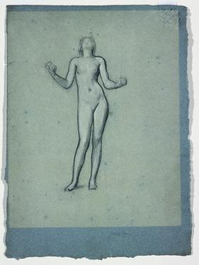 Study of a Nude Figure (Juggler) by Frederick Leighton