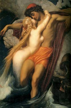 The Fisherman and the Siren by Frederick Leighton