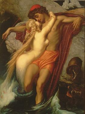 The Fisherman and the Syren: from a Ballad by Goethe, 1857 by Frederick Leighton