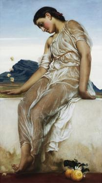 The Knucklebone Player by Frederick Leighton