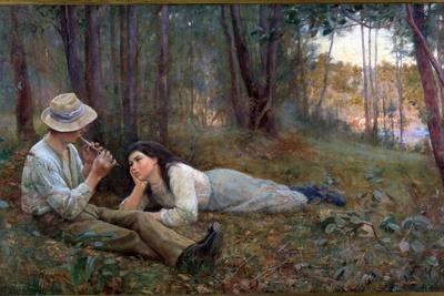 Bush Idyll, 1893