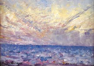 Setting Sun by Frederick McCubbin