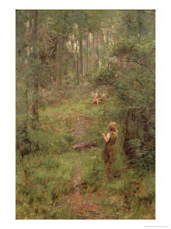 What the Little Girl Saw in the Bush, 1904