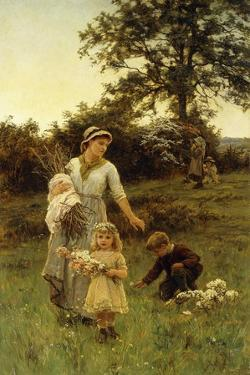 The Garland by Frederick Morgan