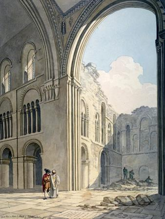 Choir of the Church of St Bartholomew-The-Great During Repairs, Smithfield, City of London, 1815