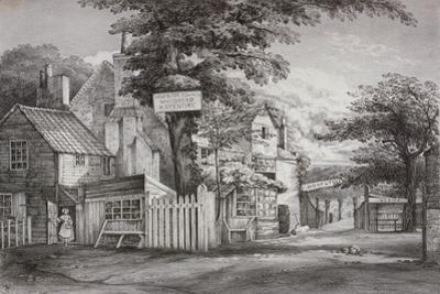 The Hoop and Toy Inn on Brompton Road, Kensington, London, C1820