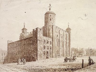 Tower of London, London, C1820