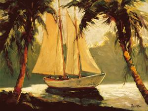 Sailboat, Santa Barbara by Frederick Pawla
