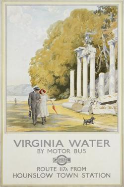 Virginia Water by Frederick Pegram