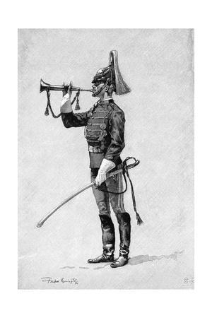 U.S Cavalry Bugler