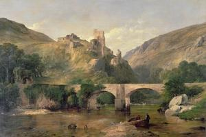 Richmond Castle by Frederick Richard Lee