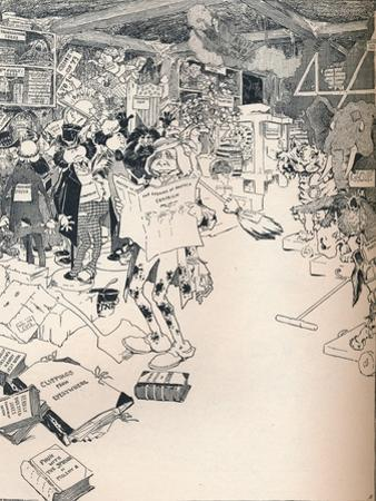 The Property Room of a Clever Cartoonist, C1890