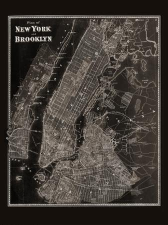 The Plan of New York and Brooklyn, 1867 by Frederick W. Beers