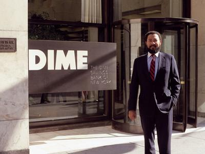Richard D. Parsons, Stands in Front of the Building in September 1988